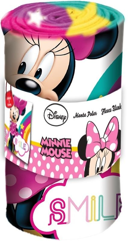 Fleece deka Minnie Smile 100/150